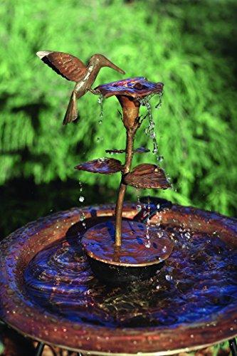 Happy Gardens Hummingbird Solid Copper Dripper ()