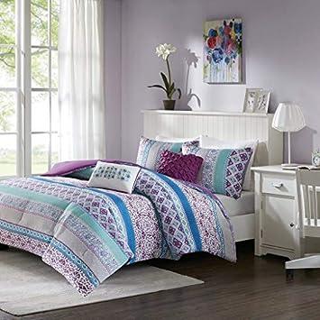 Amazoncom Intelligent Design Joni Comforter Set Fullqueen Size