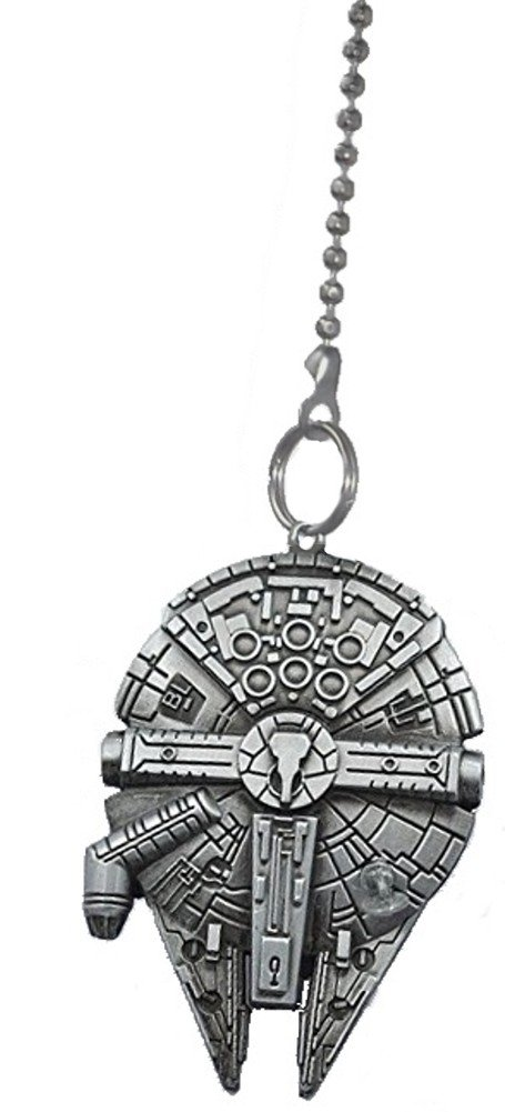 Star Wars Millennium Falcon Metal Fan Pull