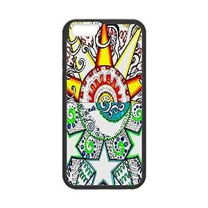"""LSQDIY(R) Moon & Sun iPhone6 Plus 5.5"""" Case Cover, Customized iPhone6 Plus 5.5"""" Cover Case Moon & Sun"""