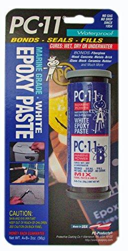 Marine Epoxy Paste (Pc Epoxy 020111 Pc-11 Waterproof Marine Glue Paste Works Wet; Dry; Or Submerged)