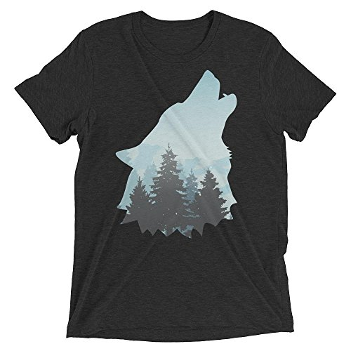 Medium Sycamore Springs - Sycamore Tee's Howling Wolf Tee