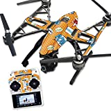MightySkins Protective Vinyl Skin Decal for Yuneec Q500 & Q500+ Quadcopter Drone wrap cover sticker skins Pop Art