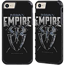 Official WWE Roman Empire Roman Reigns Gold Gripper Case for Apple iPhone 7 / iPhone 8