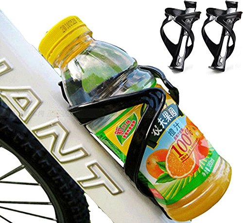 Polycarbonate Durable Bottle (2X Bike Water Bottle Holder Mount Cage Bicycle Cycling Drink Cup Polycarbonate)