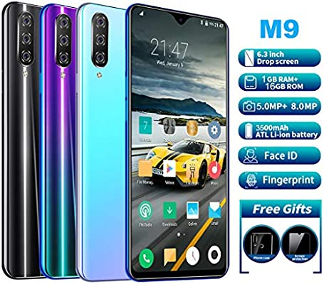 HSKB M9 - Smartphone Libre con 8 núcleos, Pantalla de 6,3 Pulgadas ...