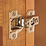 Salice® Excen-Three Hinges, 106 Degree Opening, 1/2 Overlay by Salice