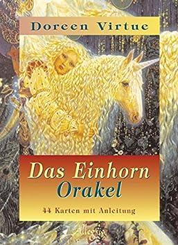 Das Einhorn Orakel - 44 Karten mit Anleitungsbuch