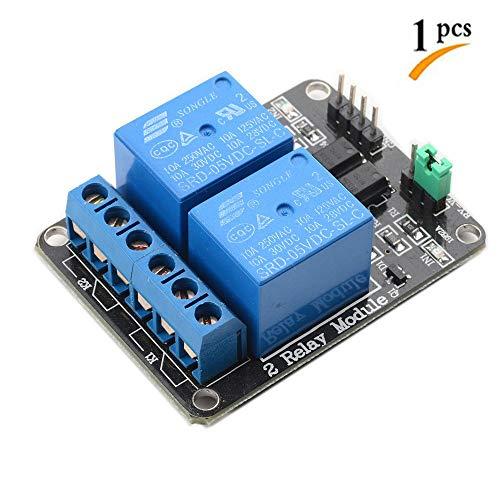 2 Channel Relay Module DC 5V for Arduino Raspberry Pi DSP AVR by Devbattles
