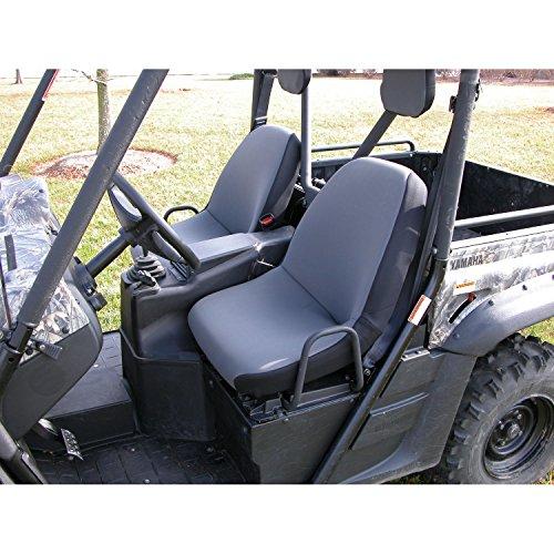 - Rugged Ridge 63210.09 Gray Neoprene Seat Cover with Headrest Cover for Yamaha Rhino - Pair