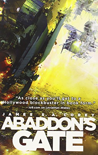 book cover of Abaddon\'s Gate