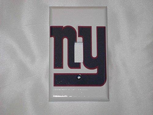 NY GIANTS NEW YORK- SINGLE Light Switch Plate / ()