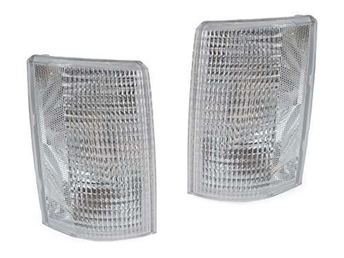 Gmc Safari Corner Light (DEPO 1985-1994 Chevrolet Astro Van / GMC Safari Euro Clear Corner Signal Lights)