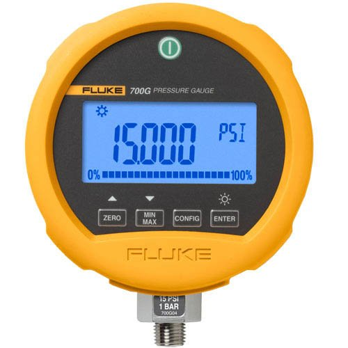 Fluke 700G Series Precision Pressure Test Gauge, 3 AA Alkaline Battery, -12 to 100 psi Range, 0.001 psi Resolution by Fluke