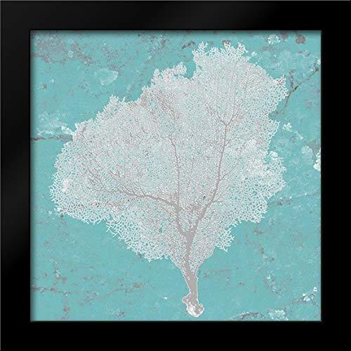 (Graphic Sea Fan VII 20x20 Framed Art Print by Studio W)