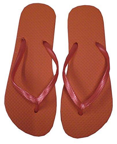 Sandrocks - Sandalias de vestir para mujer Naranja