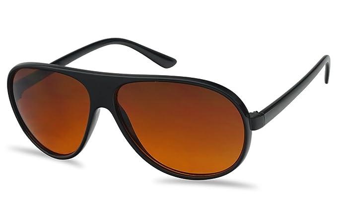 41fda0565a Retro 80s Round Over Sized XL Large Black Blocker Plastic Aviator Sunglasses
