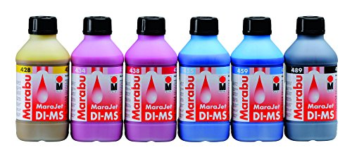 MARABU MaraJet DI-MS, 1 Liter Eco Solvent Ink Bottle, for MIMAKI JV33 Printers (Light Magenta)