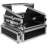 10u mixer case - ProX Cases T-2MRLT 2 Space 10U Slant DJ Mixer Combo Rack w/ Sliding Laptop Shelf