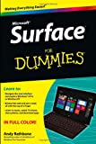 Surface for Dummies, Andy Rathbone, 1118496345