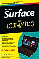 Surface For Dummies Front Cover