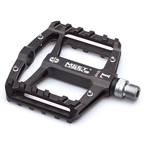 Bike Pedal CNC Aluminum Body Cr-Mo Machined 9/16