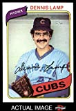 1980 Topps # 54 Dennis Lamp Chicago Cubs (Baseball Card) Dean's Cards 7 - NM Cubs