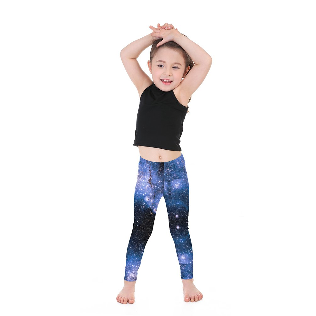 064a02a433159 Amazon.com: Lesubuy Colored Galaxy Print Children's Ankle Length Leggings  Plus Size: Clothing