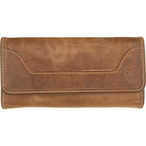Melissa Continental Snap Wallet, Beige by FRYE