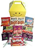 Smile Snacks Care Package features fun Gift Box stuffed with savory snacks and sweet candy treats, the perfect gift for your college student,...