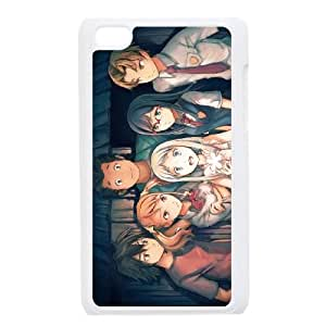 iPod Touch 4 Case White anohana EUA15987625 Cheap Cell Phone Case