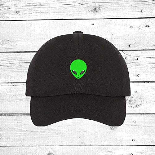 Alien Baseball Hats Outer Space Hat Alien Head Cap UFO Tumblr Hats Green Alien Halloween Hats and Caps Halloween Costume Accesories -