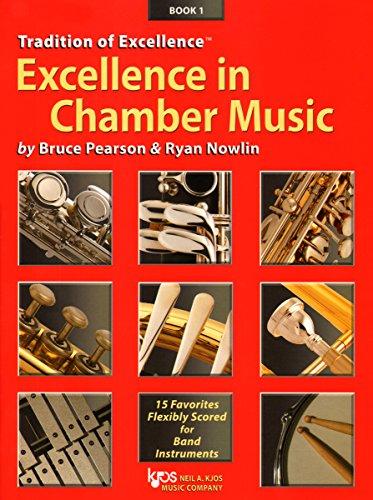 1 Music Bassoon Book (W40BC - Excellence in Chamber Music Book 1 - Bassoon Trombone Baritone B.C.)