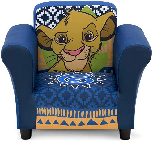 Delta 子供用 ソファ ライオンキング The Lion King Kids Upholstered Chair UP83620LK