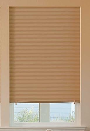Asequible Instant temporal papel persianas (Semi Permanente) 91 cm x 182 cm – luz
