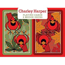 CHARLEY HARPER PLAYING CARDS 2 BRIDGE DECKS