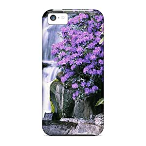 Hot Design Premium JlZAw8081QithF Tpu Case Cover Iphone 5c Protection Case(the Waterfall)