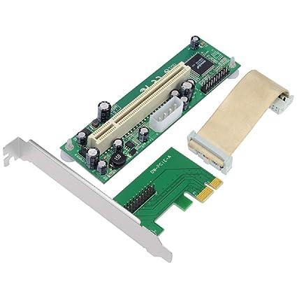 Jeirdus - Tarjeta combinada PCIe paralela, Puerto Serie RS ...