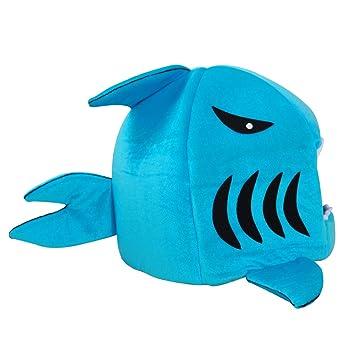 Comtervi Tiburón de diseños Caseta Perro Cama Cesta Perros y Gatos Cama con cojín Perro Mascota