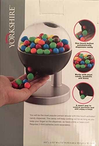 - Yorkshire Touch Activated Mini Candy Dispenser