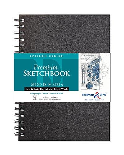 Stillman & Birn Epsilon Series Wirebound Sketchbook, 7