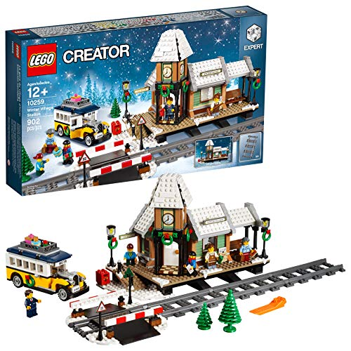 LEGO Creator Expert Winter Village Station 10259 Building Kit (Santas Village Express Train Set)