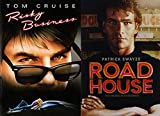 Risky Business & Road House DVD 80's Tom Cruise & Patrick Swayze Movie Bundle Double Feature Movie Set