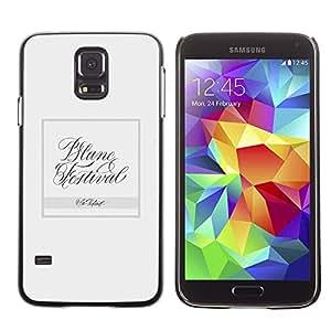 Be Good Phone Accessory // Dura Cáscara cubierta Protectora Caso Carcasa Funda de Protección para Samsung Galaxy S5 SM-G900 // Dance
