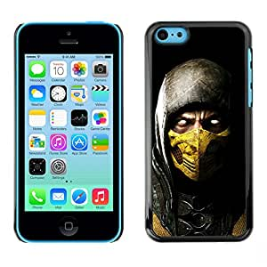 Design for Girls Plastic Cover Case FOR iPhone 5Cs SCORPION MK MORTAL COMBAT OBBA