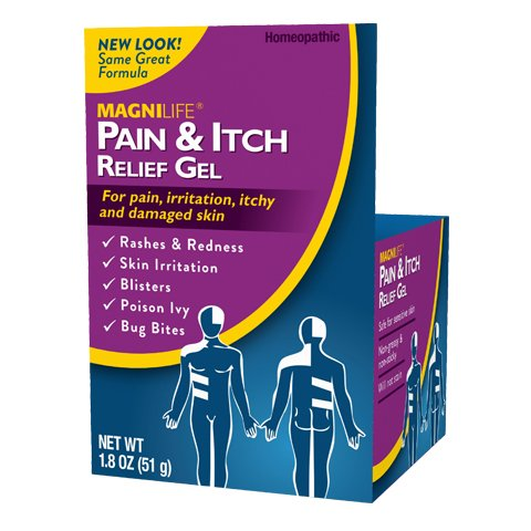 MagniLife Pain and Itch Relief Gel , 1.8 Ounce. -
