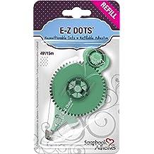 3L 01205-MP Scrapbook Adhesives E Z Dots Repositionable Refillable Runner Refill Cartridge, 49', Set of 6