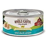 Whole Earth Farms Grain Free Receipe, 5 oz, Duck, 24 Count