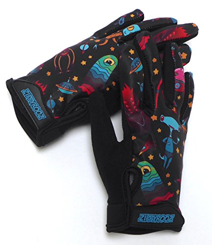 ZippyRooz Toddler & Little Kids Full Long Finger Bike Gloves