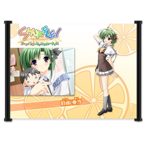 "Shuffle Anime Fabric Wall Scroll Poster (42"" x 32"") Inches. [WP]-Shuffle-32 (L)"